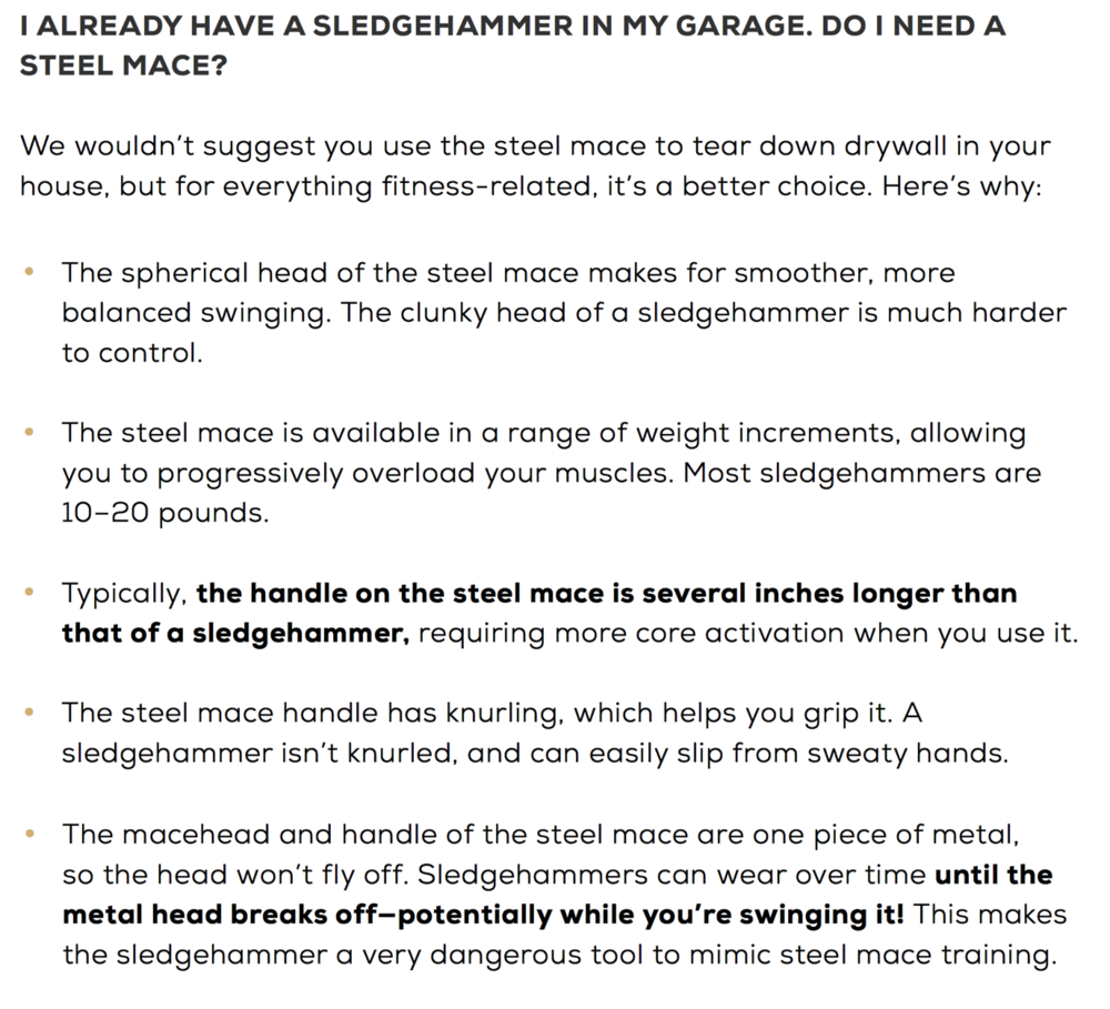 Page 50 of Onnit's Steel Mace ebook: ripping off this article and giving NO credit